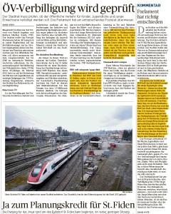 St. Galler Tagblatt 25.5.2016